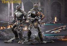 Ready! Hot Toys Marvel The Avengers Chitauri Footsoldier & Commander Set + Bonus