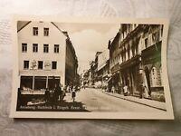 AK alte Ansichtskarte Annaberg-Buchholz Ernst-Thälmann Straße Bierstube Geschäft