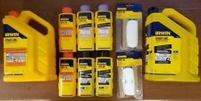 Lot Of 10 - Irwin Assorted Strait-Line Marking Chalk Products *Brand New*