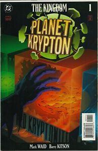DC COMICS THE KINGDOM PLANET KRYPTON #1! NM!