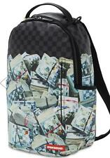 Sprayground NEW MONEY BACKPACK 910B2898NSZ Shark in Paris Black Dollar Bills  💵