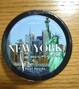Perfectly Posh ~ in a New York minute ~ FAST FACIAL - New and Sealed