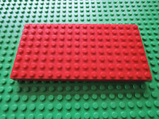 LEGO 1 x Basisplatte dunkel beige Dark Tan Basic Plate 8x16 92438 4624163