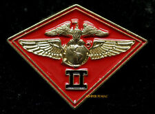 2ND MAW MARINE AIRCRAFT WING HAT LAPEL PIN US MARINES MCAS MAG VMA VMFA HMH HMM