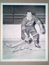 "EMILE ""BUTCH"" BOUCHARD 1945-54 ORIGINAL QUAKER OATS PHOTO IN ACTION"