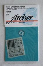 Archer 1/35 Heer Uniform Patches for Armored Reconnaissance Units FG35045B