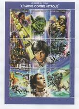 STAR WARS THE EMPIRE STRIKES BACK REPUBLIQUE TOGOLAISE 1997 MNH STAMP SHEETLET