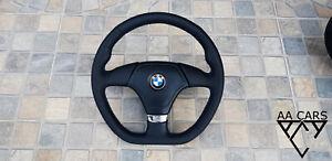 Steering Wheel BMW E36 M3 M-pakiet M-Power Flat Bottom New Leather  Set