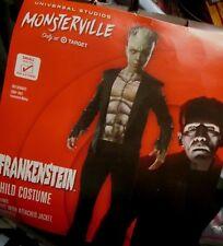 Child Universal Studios MONSTERVILLE FRANKENSTEIN COSTUME S 4-6 NEW 2pc Boys