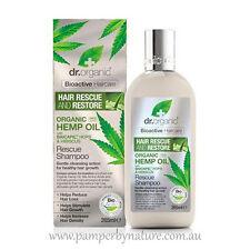 Dr Organic Hemp Oil  Hair Rescue & Restore Rescue Conditioner 265ml