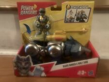 POWER RANGERS Silver & Wolf Zord Dino Thunder Imaginext Playskool Heroes.