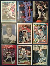 Cal Ripken Jr. HOF Orioles  9 Card Lot w/Inserts  NM/MT  Lot #3