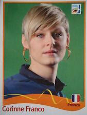 Panini Corinne Franco France FIFA Frauen WM 2011 Germany