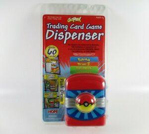 GoPak Trading Card Game Dispenser Pokemon Digimon Dragonball Z
