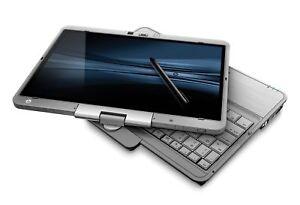 HP Elitebook 2730p  Laptop mit Tablet Funktion  4GB120GB SSD WebCam Win 7