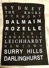 Tea Towels Sydney Pyrmont The Rocks Glebe Annandale Balmain Rozelle Australia