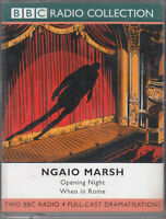 Ngaio Marsh Opening Night / When In Rome 2 Cassette Audio Book Full Cast Drama