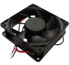 Ventilateur pour boîtier 24V 80x80x25mm 56m3/h 28dBA 2600rpm 1.2W 0.05A à billes