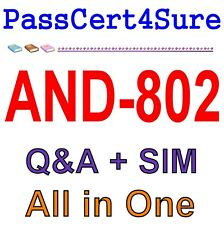 Android Security Essentials AND-802 Exam Q&A PDF+SIM