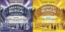 GREATEST MUSICAL CLASSICS - 2 DISCS - SUNDAY EXPRESS PROMO MUSIC CD