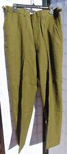 "Vintage U.S. Army Korean War O.D. wool pants 1951 NOS 31-35"" waist - 31"" inseam"