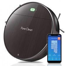 PureClean PUCRC850 Alexa Smart Robot Vacuum Cleaner, Gyroscope Navigation, Hepa