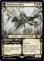 Magic the Gathering (mtg): ELD: Murderous Rider - Rare - Showcase