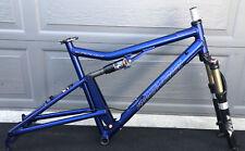 Santa Cruz SuperLight Handmade USA Mountain Bike Frame W/ Fox Racing Fork NICE!