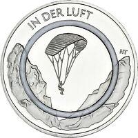 Deutschland 10 Euro 2019 Luft Gleitschirm Polymerring Gedenkmünze bankfrisch