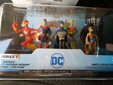 DC Super Hero 5 Figure set Heroworld Funko Collectibles Series 1