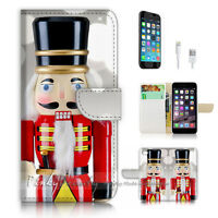 ( For iPhone 7 ) Wallet Case Cover P2907 Soldier Toy