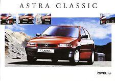 Opel Astra F Classic 5p 04 / 1999 catalogue brochure polonais