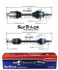 For Ford Taurus Mercury Sable 86-03 FWD Set of Front CV Axle Shafts SurTrack Set