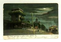 C. 1906 Reading Pennsylvania Mt Penn Tower & Hotel UDB Vintage Postcard