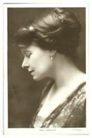 Antique RPPC postcard Miss Darragh actress stage theatre music hall