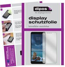 2x ZTE Blade A7 Vita Schutzfolie klar Displayschutzfolie Folie Display Schutz