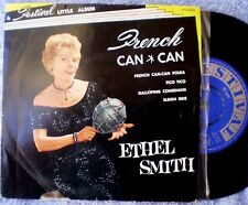 """ETHEL SMITH-FRENCH CAN CAN """"RARE OZ EP"""" 45 RPM"""