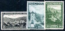 LUXEMBURG 1928 1931,1934 207,238,258 ** POSTFRISCH TADELLOS 26€(I2068