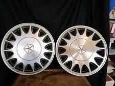 """Mopar 4784605 HUBCAPS 1988 - 93 chrysler dynasty  14"""" wheel cover chrysler"""