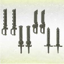 Legion Kettenschwerter Legionary Chain Swords (8) Bitz Kromlech Resin