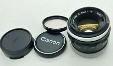 Canon FL  50mm FAST  f/1.8  MANUAL Lens
