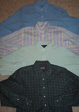 LOT OF 4 J. Crew Vineyard Vines Polo Ralph Lauren Brooks Brothers S Small