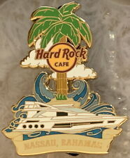 Hard Rock Cafe NASSAU BAHAMAS 2017 Yacht Guitar Core City PIN - HRC #96179
