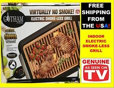 GOTHAM STEEL Smokeless Electric Grill Portable Nonstick Indoor AS SEEN ON TV
