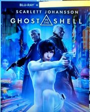 """Ghost in the Shell  """" Blu-Ray movie disc, Case and Artwork"""