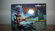 new Wizard 101 WITCH HUNTERS Bundle Game Card Crowns Darkmoor Manor House new