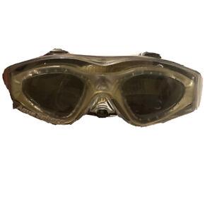Aqua Sphere Kaiman Regular Fit Goggles - Clear Frame / Dark Lenses Adult