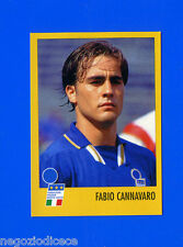 AZZURRI CON IP ITALIA - Merlin - Figurina-Sticker n. FRANCE 98 - CANNAVARO -New