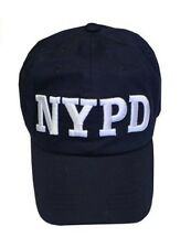 NYPD Baseball Hat New York City Police Department Navy & White One Size PDNY NWT