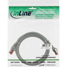InLine® Patchkabel, S/FTP (PiMf), Cat.6, 250MHz, PVC, Kupfer, grau, 7,5m |*Neu